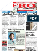 Prince George's County Afro-American Newspaper, October 23, 2010
