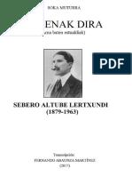 ZEZENAK DIRA (Sebero Altube Lertxundi)