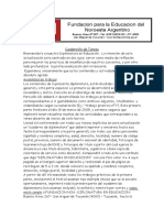 Bibliografia y Actividades Diplomatura (I)