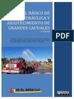 Manual Básico de hidráulica y abastecimiento de grandes caudales 2° edición 2019 Va El Agua LLC