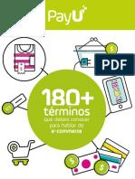 180+ términos e-commerce