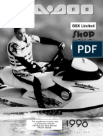 1998 Seadoo Gsx Shop Manual
