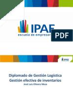 Gestion Efectiva de Inventarios - José Olivera Meza
