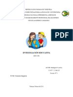 Investigación Educativa III