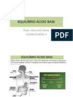 Aula 05 Equilibrio Acido Base