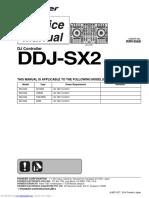 Pioneer DDJ-SX2 Service Manual