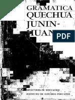 Gramática Quechua Junín Huanca Rodolfo Cerrón-Palomino