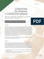 Perros y Literatura