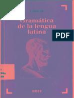 Valenti Fiol, Gramática de La Lengua Latina (1999)