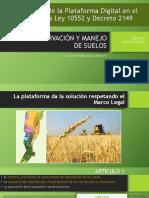 Plataforma Bajo El Marco Legal