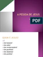 5ª Aula Jesus Cristo