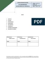 SIG-PRO-10 No Conformidades, Acción Correctiva y Preventiva v03
