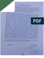 Acta de Denuncia de Sonaly Tuesta