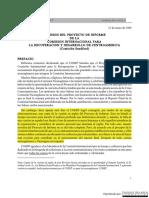 Sanford - Reporte Cometado Por COSEP - Español
