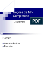 Noções de NP- Completude