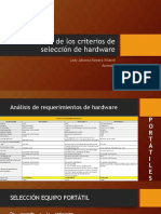 Socialización de los criterios de selección de hardware.pps