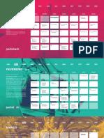 Packstock - Calendario 2019