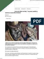 La Espeluznante Historia de Gilles de Rais, _el Primer Pedófilo y Asesino en Serie de La Historia_ - BBC News Mundo