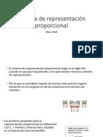 Sistema de Representación Proporcional
