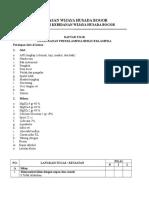 Daftar Tilik PEB