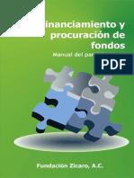 Financiamiento y Procuracion de Fondos