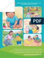 Espacios Educativos para niños de 0 a 3 años