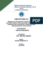 Control Perinatal