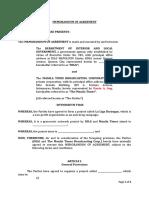 MOA- DILG and Manila Times Draft