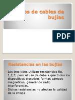 2.- Tipos de Cables de Bujias