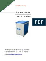 5K48V Off Grid Inverter Operation Manual