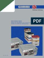 GIMMI Sterile Container