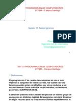 11.Subprogramas