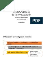 1. Metodologia de La Investigacion Conceptos Basicos