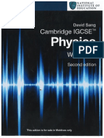 Physics  Workbook  0625 igcse