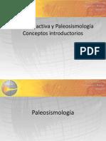Tectonica Activa y Paleosismologia