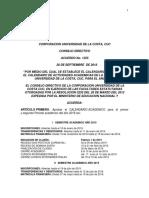 Acuerdo CD 1255 Calendario Academico 2019