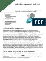 Betametasona_ Indicaciones, Posología y Efectos Secundarios