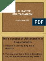 4. Qualitative Utilitarianism