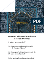 Islamic Art - Sacred Architecture