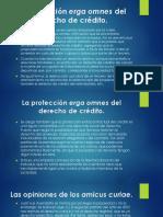 GASTULO La Protección Erga Omnes Del Derecho de Crédito
