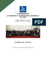 Informe Workshop 2016