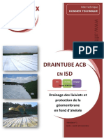 2012-04-Dossier Technique Draintube Acb Remplacementcouchesupport