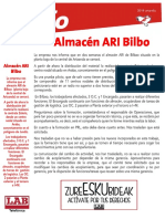 Almacén ARI Artxanda