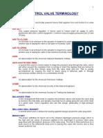 Control Valve Terminology Ver 1
