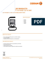 Zmp 3272513 Led Worklight S-stand 20 w 840