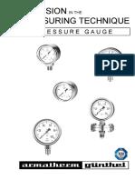 Spec Pressure Gauge