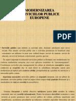 Modernizarea Serviciilor Publice Europene