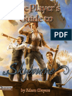 Skybourne - The Players Guide to Skybourne (PFRPG)