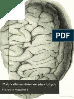 Magendie Precis Elementaire de Physiologie 1