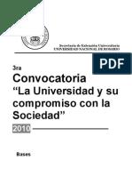 Bases Convocatoria UNR 2010